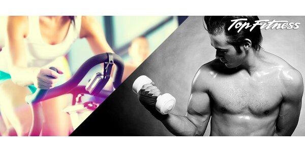 Celý měsíc cvičení v novém Top fitness Lužiny