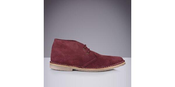 Pánské kožené kotníkové boty Roamers