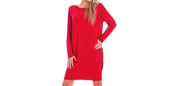 Dámské červené oversized šaty Berry Couture