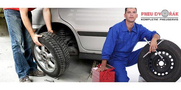 Výměna kol či přezutí pneumatik