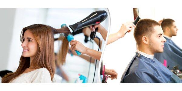 Nový účes pro ženy i muže + sleva na barvení