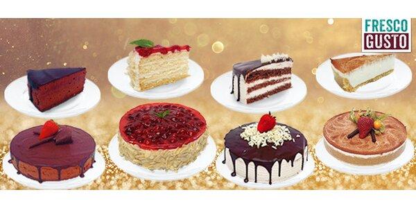 Domácí dorty z oblíbené cukrárny Fresco Gusto