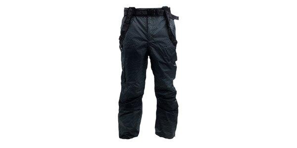 Pánské černo-šedé lyžařské kalhoty Authority
