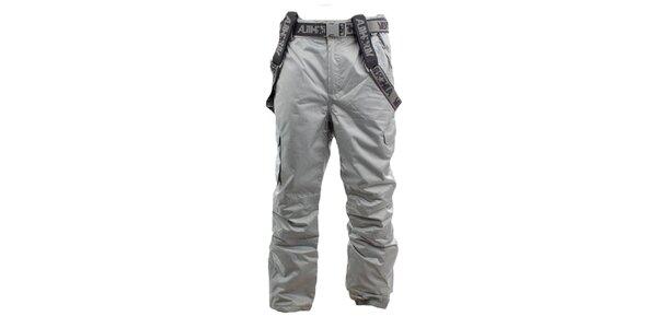 Pánské šedé lyžařské kalhoty Authority