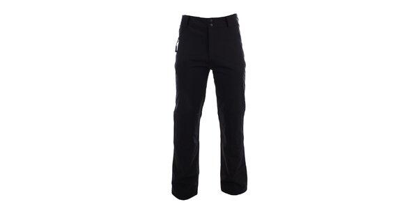 Pánské černé zimní softshellové kalhoty Authority