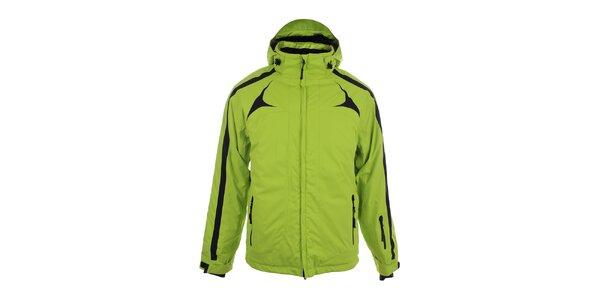 Pánská světle zelená sportovní bunda Authority