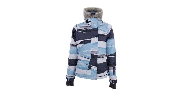 Dámská modro-šedo-bílá bunda Authority