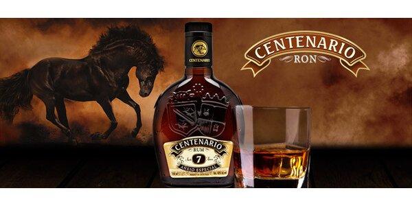 0,7 l kostarického rumu Ron Centenario