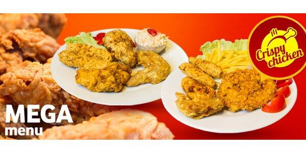 Smažené kuřecí Mega Menu v Crispy Chicken