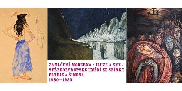 Výstava Zamlčená moderna. Klimt, Schiele a další!