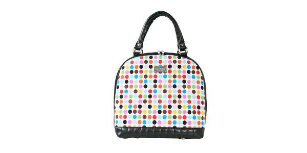 Dámská barevně puntíkatá kabelka s odnímatelným popruhem Dara Bags