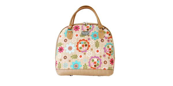 Dámská barevně vzorovaná kabelka s odnímatelným popruhem Dara Bags