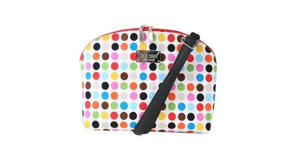 Dámská menší kabelka s barevnými puntíky Dara Bags