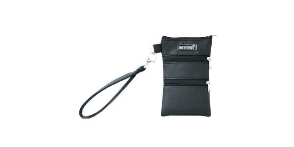 Dámská černá mini kabelka na smart phone Dara Bags
