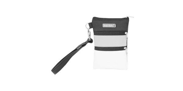 Dámská pruhovaná mini kabelka na smart phone Dara Bags