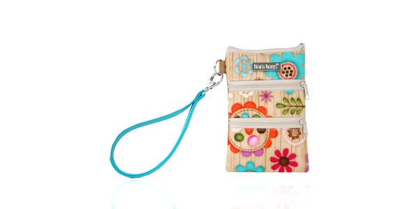 Dámský barevně vzorovaný obal na smart phone Dara Bags