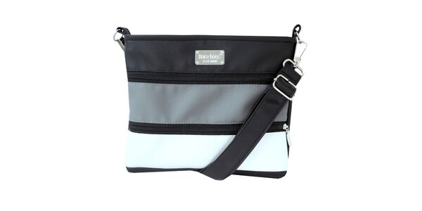 Dámská pruhovaná kabelka s popruhem Dara Bags