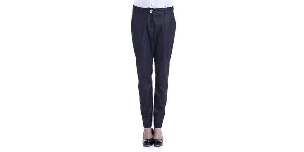 Dámské černé kalhoty Lora Gene