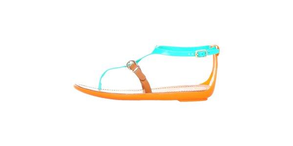 Dámské zelené páskové sandály Ana Lublin