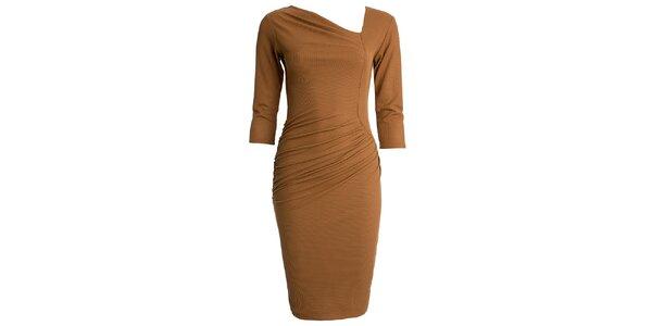 Dámské šaty s asymetrickým výstřihem CeMe London