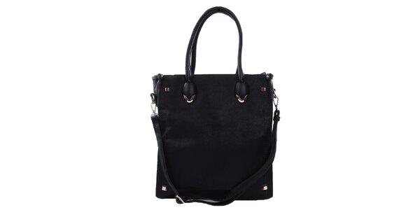 Dámská černá obdélníková kabelka Bessie