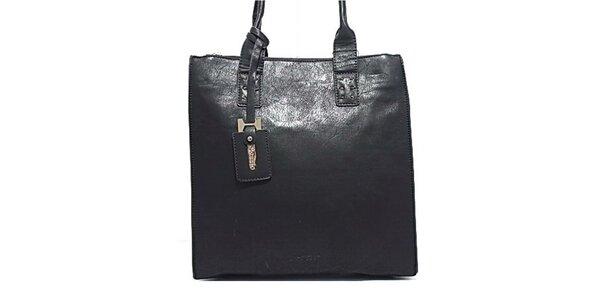 Dámská černá kabelka s přívěskem Bessie