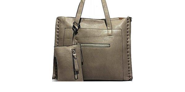 Dámská kabelka s dekorativním prošíváním Bessie