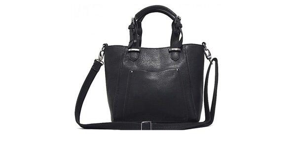 Dámská černá kabelka s odepínacím popruhem Bessie