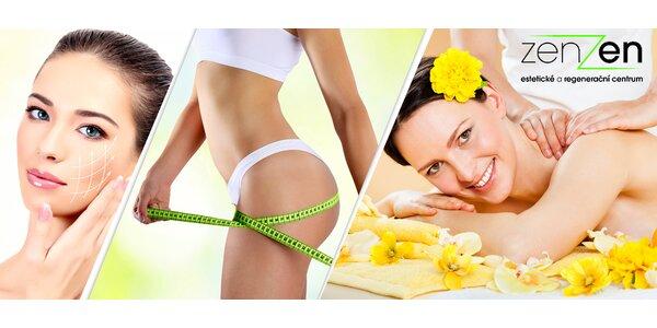 40% sleva na hubnutí, masáže i kosmetiku
