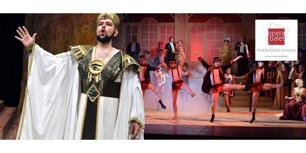 Vstupenky na slavné opery - Verdi, Puccini aj.