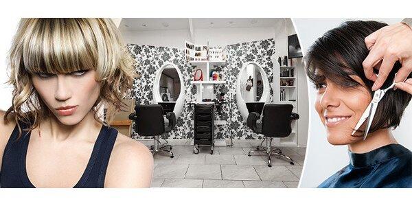 Darujte kadeřnický balíček střihu a nebo barvy či přeliv pro všechny délky vlasů