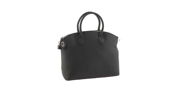 Dámská černá elegantní kabelka Valentina Italy