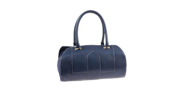 Dámská modrá kufříková kabelka Valentina Italy