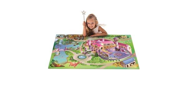 Hrací podložka Království 80x120 cm