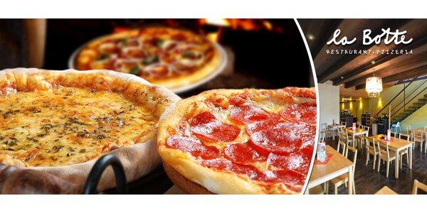 2x skvělá pizza dle vašeho výběru