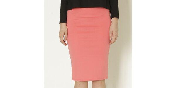 Dámská korálově růžová pouzdrová sukně Keren Taylor