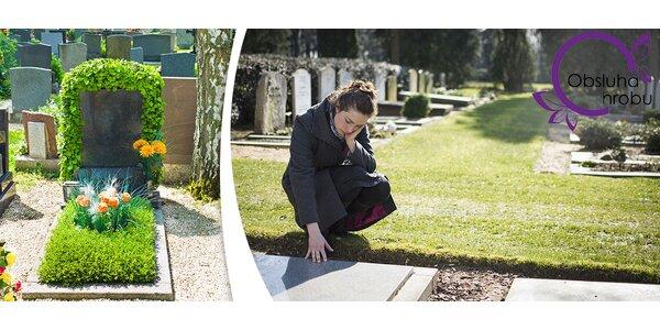 Údržba hrobového místa v základní či variantě Plus