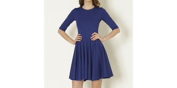 Dámské modré šaty s rukávy Keren Taylor