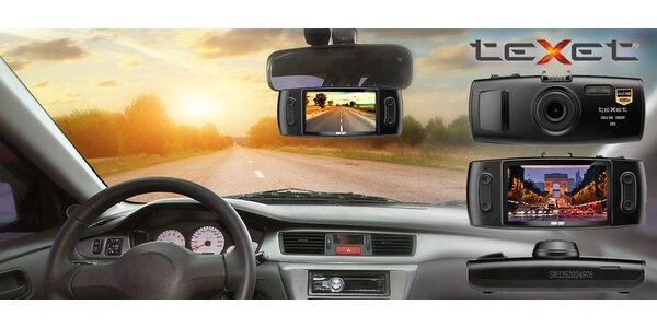 Inteligentní kamera do auta teXet