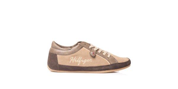Dámské kožené tenisky Tommy Hilfiger
