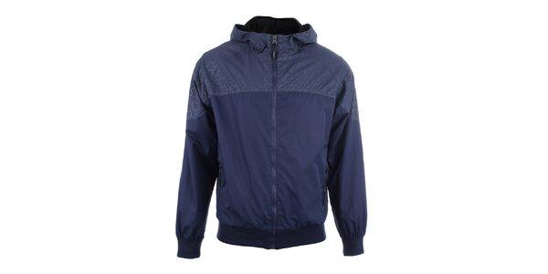 Pánská tmavě modrá bunda s kapucí Joluvi