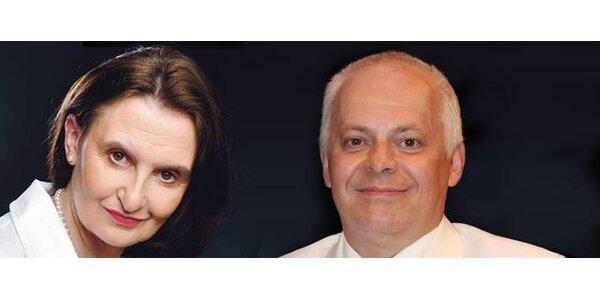 Vstupenka na talk show Evy Holubové a Bohumila Klepla ve Filharmonii Hradec…