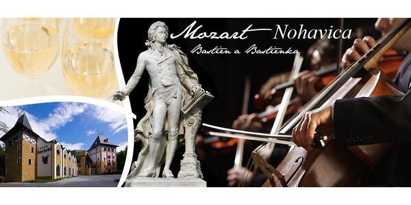 Mozart a Nohavica na Zámku Lužec