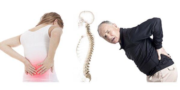 Dornova metoda a CS terapie odstraňující bolesti zad v délce 90 minut