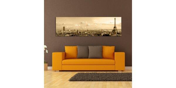 Paříž, sépiový efekt