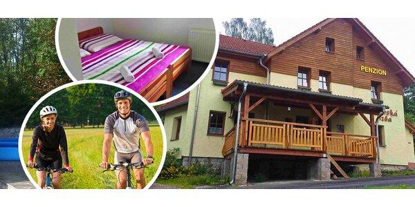 Cyklo dovolená či lyžování pro dva v Nových Hamrech
