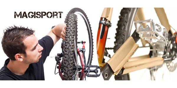 Podzimní údržba a servis jízdního kola