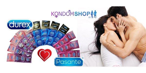 Balíčky až 73 kondomů včetně dopravy