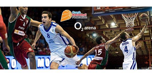 4 vstupenky na den basketbalu v O2 Aréně