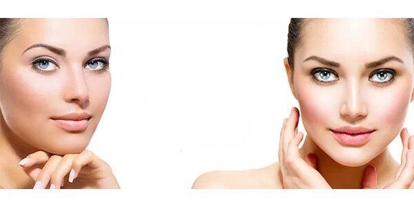 Neinvazivní mezoterapie - ošetření obličeje krku a dekoltu